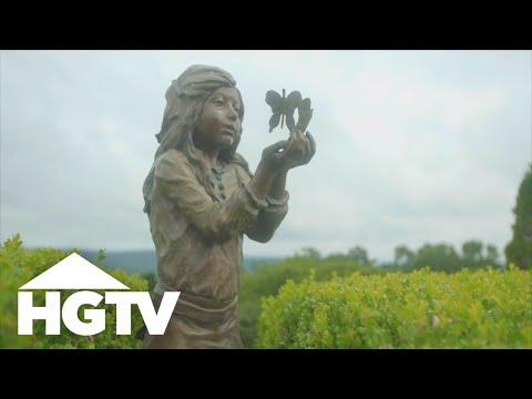 Garden Tours | Expansive Hilltop Garden - HGTV