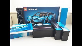 LEGO Technic Bugatti Chiron unboxing #42083