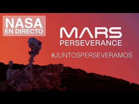 Juntos perseveramos: El aterrizaje del rover Perseverance en Marte