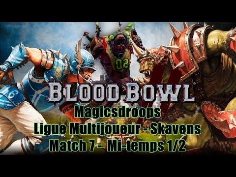 Blood Bowl 2 [FR] Ligue Multi - [Armée de Ban] VS [Body break] 1/2