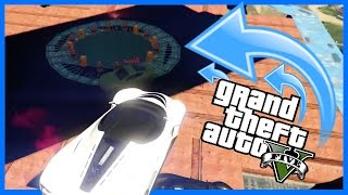 INSANE BLENDER DERBY! - GTA V MODDED MAP (GTA 5 FUNNY MOMENTS)
