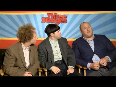 Larry, Moe and Curly Interview for THE THREE STOOGES