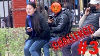 challenge #3 | निलो पेन्टि लगाको छ हो  |  Good evil  Nepali pranks  funny nepali video
