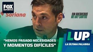 Diego Alonso en conferencia de prensa