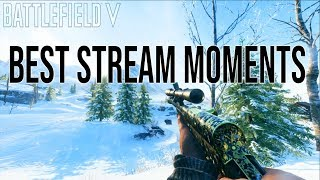 Battlefield 5 BEST Moments from the Stream!