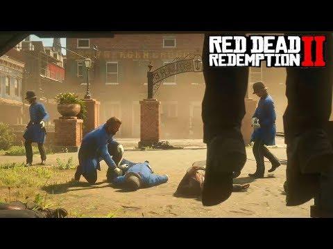 Конец Кольма О'Дрискола - RED DEAD REDEMPTION Прохождение  #34