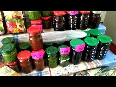 Цены в Лоо. Сарафаны, эвкалиптовые веники, варенье, специи, кофе, чай.