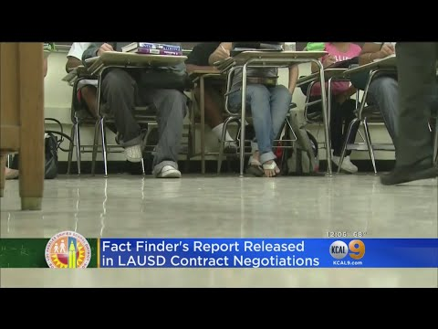 New Report Provides Some Optimism As Teacher's Strike Looms LAUSD