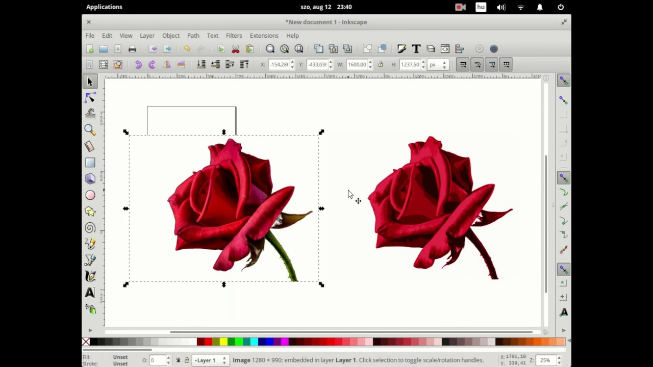 How To Quickly Vectorize A Bitmap Image Using Gimp And