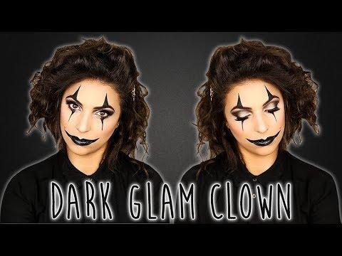DARK GLAM CLOWN #HALLOWEEN2018 | Rita Serrano