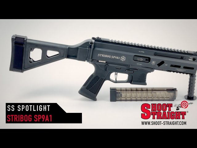 Grand Power Stribog SP9A1 w/ SB Tactical Brace - Shoot Straight Spotlight