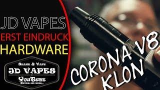 😍 Corona V8 Klon 😍 zusammenbau und erster test I #JDVAPES