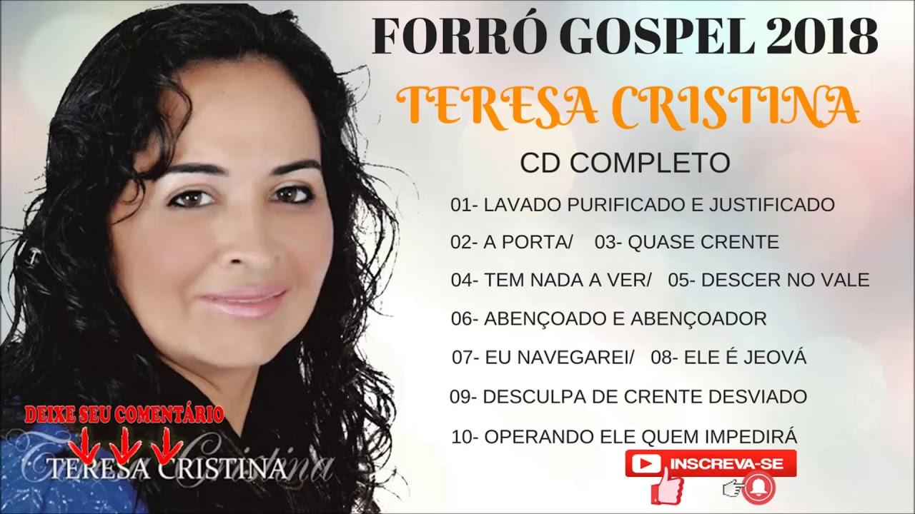 O MELHOR DO FORRÓ GOSPEL DO NORDESTE- TEREZA CRISTINA- CD COMPLETO- XOTE SANTO