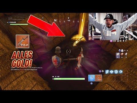 NEUE GOLDENE WAFFE + 2x SCAR gefunden! 😱💎 Fortnite Battle Royale Wakez Gaming