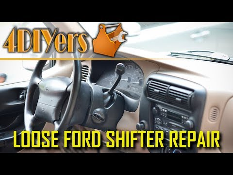 How to Repair a Loose Ford Column Shifter – Common Issue