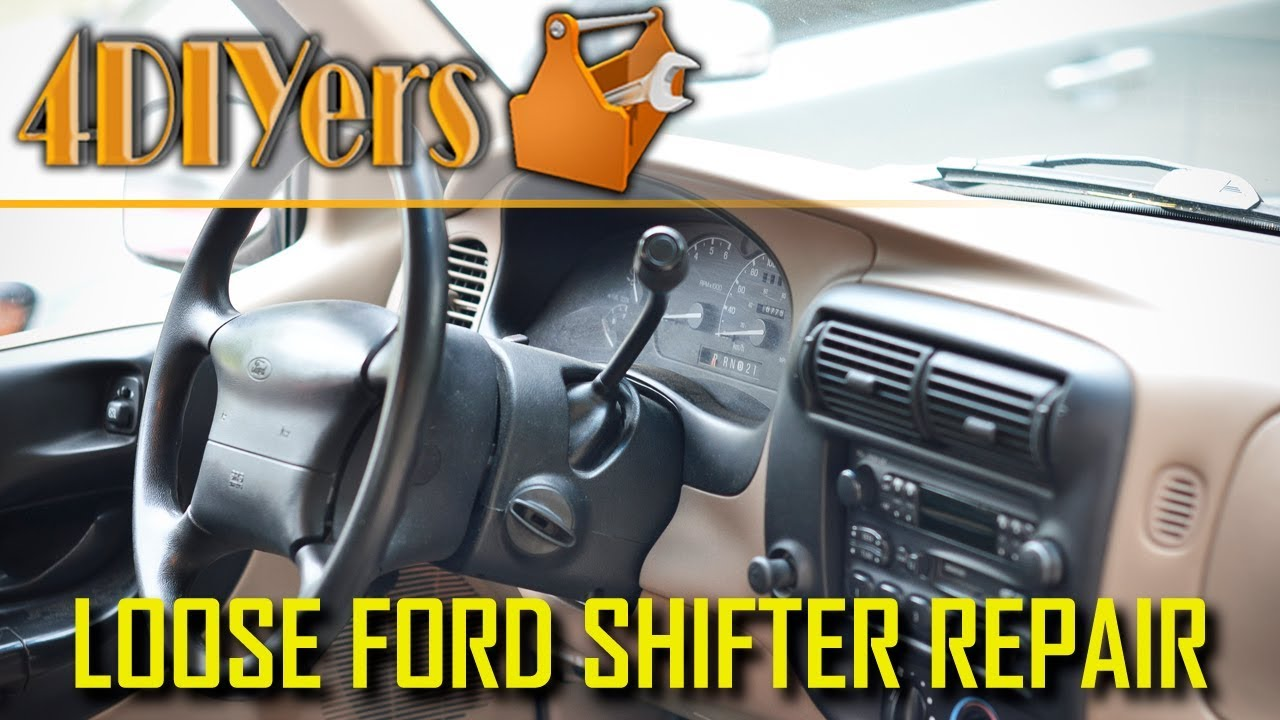 How to Repair a Loose Ford Column Shifter - Common Issue: 4