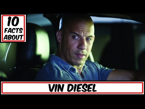 10 Facts About Vin Diesel (Dominic Toretto/ Groot)