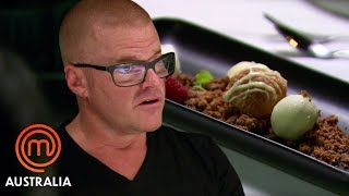 Heston Blumenthal's Dish Is Missing An Ingredient! | MasterChef Australia | MasterChef World
