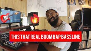 this that real boom bap bassline (making a boom bap hip hop beat)