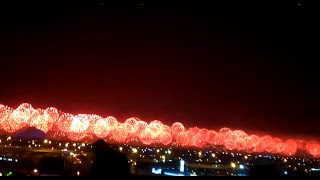 Dubai New Year Fireworks  2016 Burj Khalifa to Burj Al Arab