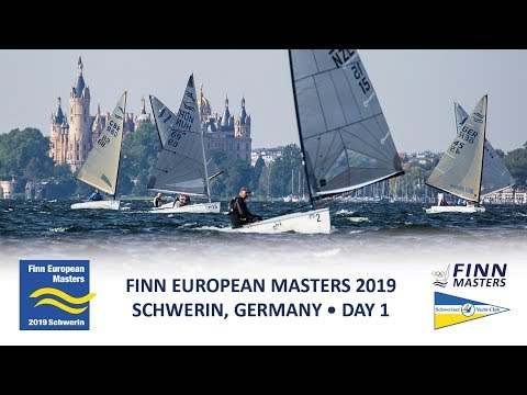 Highlights from Day 1 at the Finn European Masters at Schwerin in Germany
