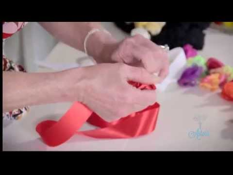 Arts & Crafts Tutorial: How to Make Ribbon Roses