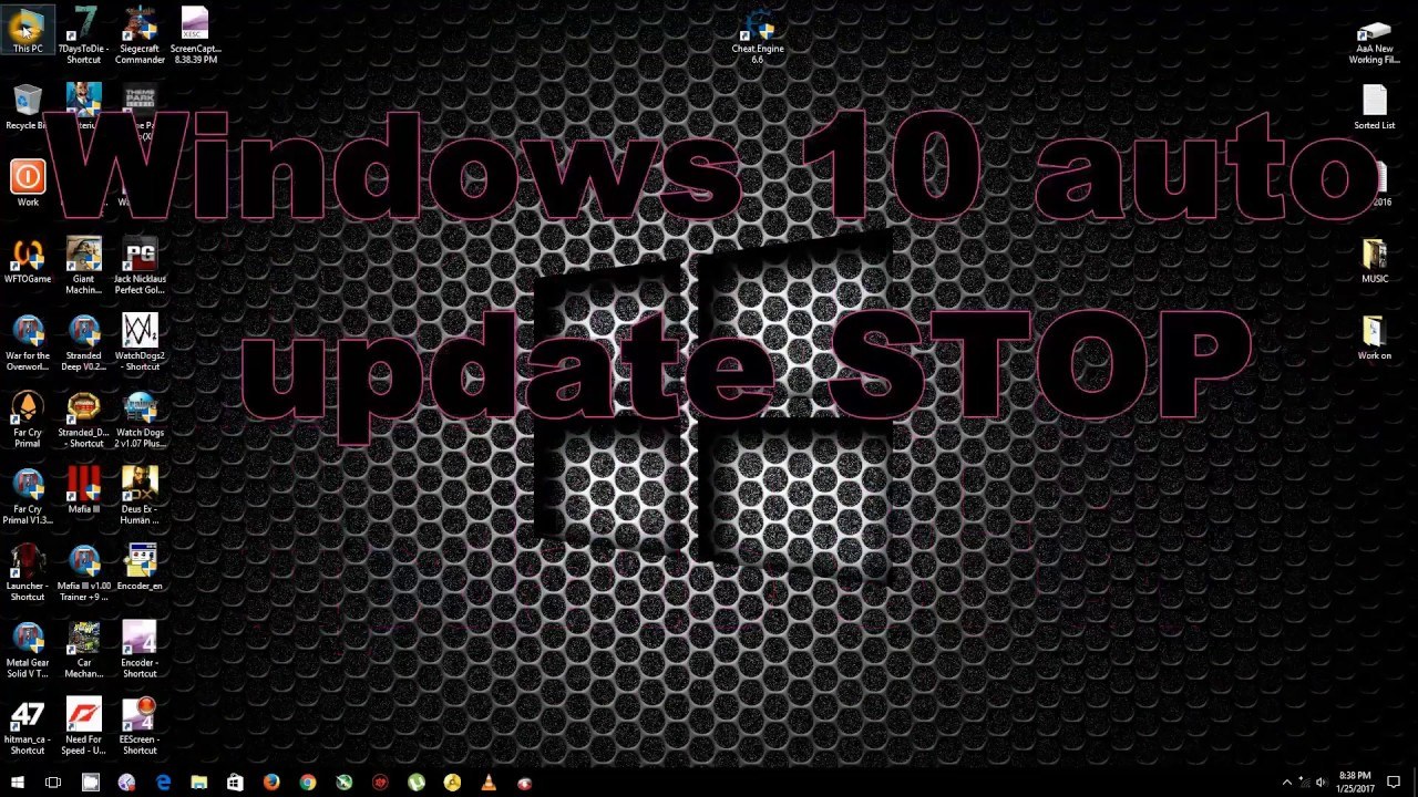 how to stop windows installing updates