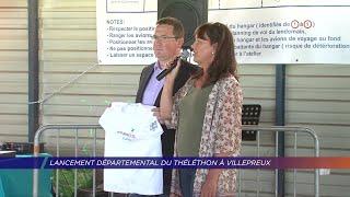 Yvelines | Lancement départemental du Téléthon à Villepreux