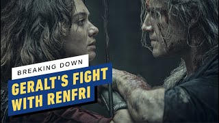 The Witcher: Henry Cavill Breaks Down Geralt's Fight With Renfri