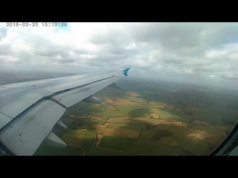 landing at london stansted airport (united kingdom) from larnaca (cyprus) with COBALT AERO 23.03.18
