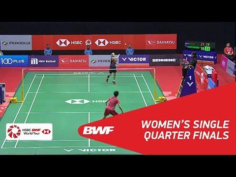 WS   TAI Tzu Ying (TPE) [1] vs CHEN Yufei (CHN) [8]   BWF 2018