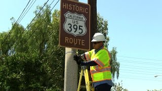 Video City Watch - Historic Highway 395 signs download MP3, 3GP, MP4, WEBM, AVI, FLV November 2017