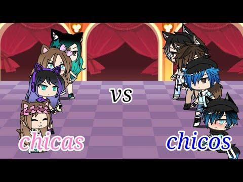 •Batalla de canto chicas vs chicos•//•gacha life•