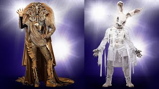 The Masked Singer: The Lion And The Rabbit Revealed