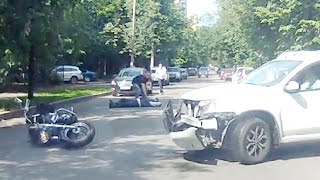 Мото аварии Июнь 2016