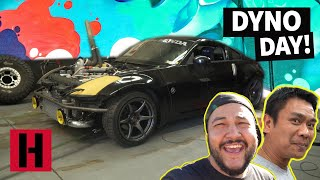 Build & Battle Dyno Time! Will The K-Swapped 350Z Hit 500HP?!
