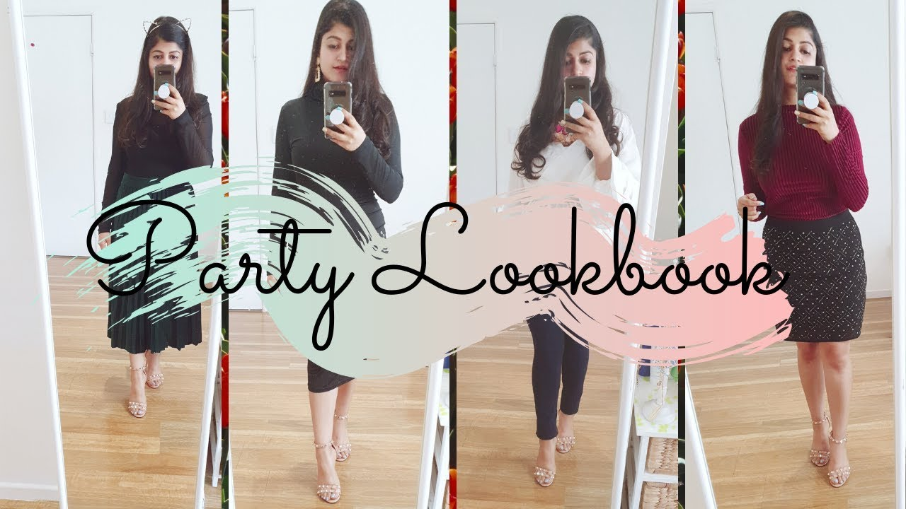 [VIDEO] - HOLIDAY LOOKBOOK 2019 || PARTY OUTFIT IDEAS FOR CHRISTMAS & NEW YEAR 2020 || RIDHIMAA MOHINI 4