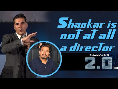 Akshay Kumar Tamil speech | 2.0 Trailer Launch | Rajinikanth