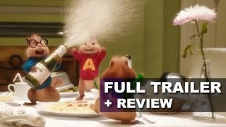 Alvin and the Chipmunks 4 The Road Chip Trailer + Trailer Review - Beyond The Trailer