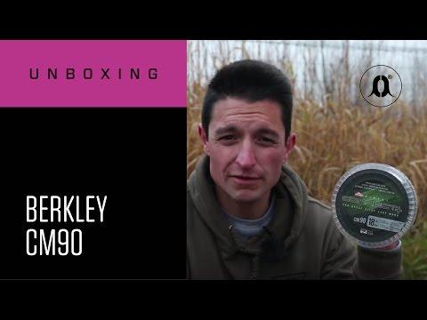 CARPologyTV - Berkley CM90 Carp Line Unboxing Review