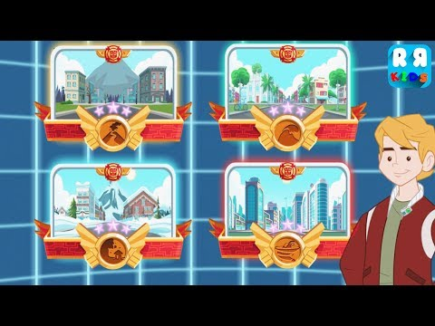 Transformers Rescue Bots: Disaster Dash - Complete All City Medal