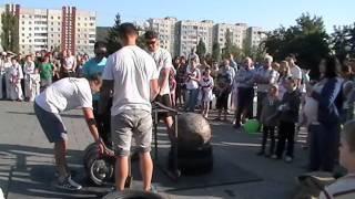 Змагання богатирів та аматорів на День Обухова ч.2