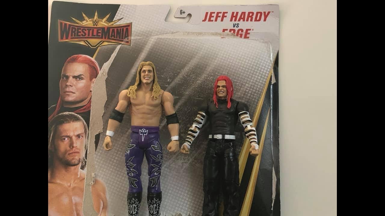 "Jeff Hardy /& Edge WWE Battle Packs /""WrestleMania 35/"""