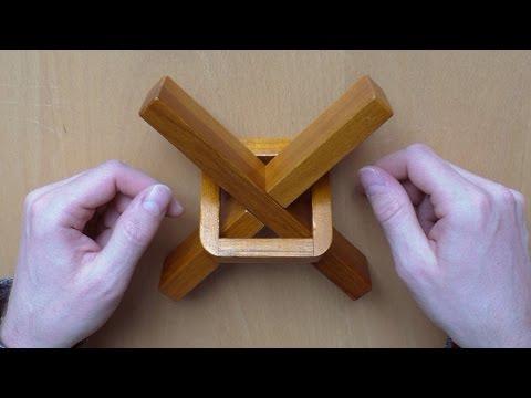 E8 - SOLUTION - Da Vinci's Helicopter Puzzle by Professor Puzzle