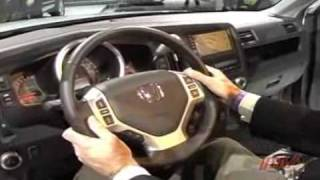 2006 Honda Ridgeline introduction  (pt 4 of 4)