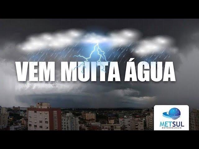 03/06/2020 - Vem muita chuva para o Sul do Brasil | METSUL