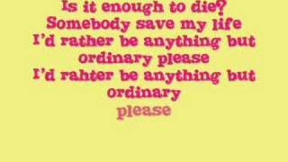 Video Anything But Ordinary by Avril Lavigne(With Lyrics in Video) download MP3, 3GP, MP4, WEBM, AVI, FLV Juli 2018