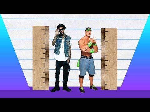 How Much Taller? - Wiz Khalifa vs John Cena!