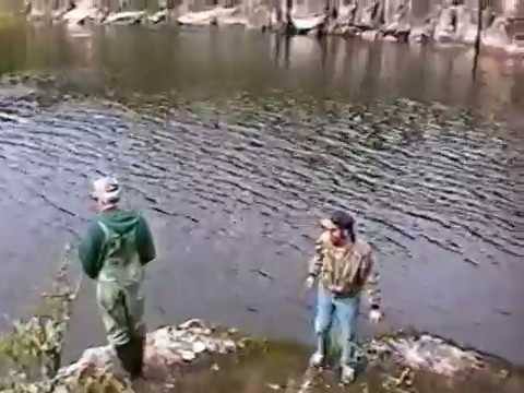 moose hunt 2003 Manitoba fishing 2001