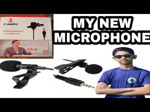 """Download """"MY NEW CANDC MICROPHONE UNBOXING / SADAF ZAMAN"""""""